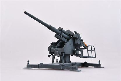 Picture of German WWII Flak40 128mm with the bettung 40,1942